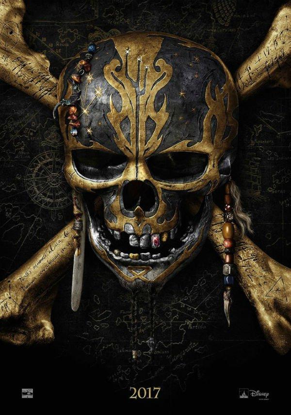 Teaser tráiler de Piratas del Caribe: Dead Men Tell no Tales