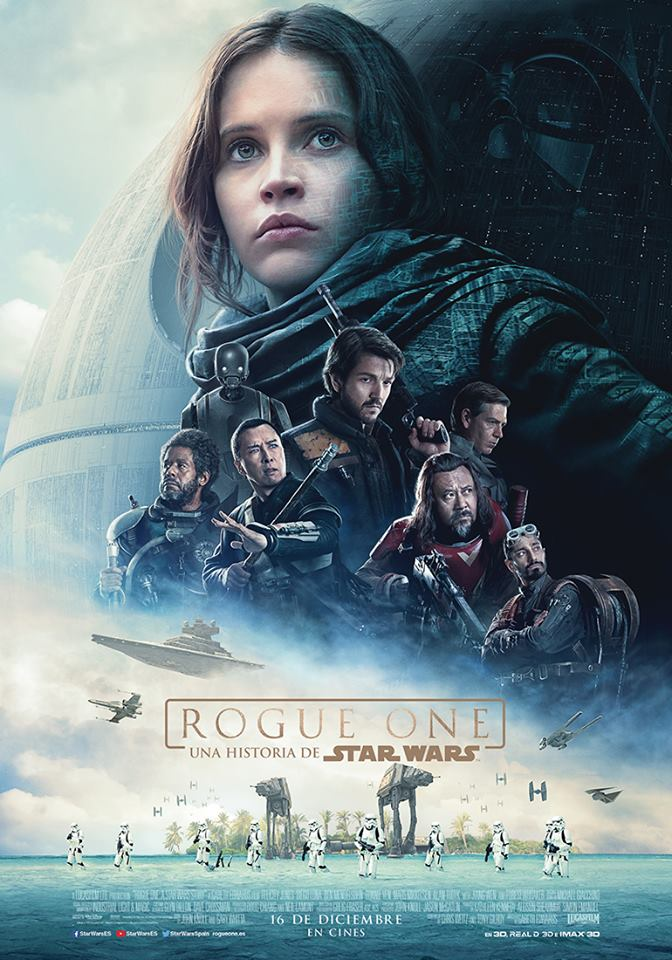 Tráiler y póster final de Rogue One: Una Historia de Star Wars