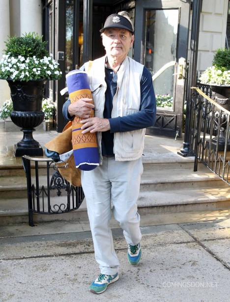 Exclusive... 51818653 Actor Bill Murray arrives Boston, Massachusetts on August 6, 2015 and is seen heading to the 'Ghostbusters' set on the 7th, confirming the rumors that he will have a role in the highly anticipated new comedy. Murray's part has been kept super secret as his name isn't listed on the call sheet and crew has been told to be hush hush about talking about him on set.  FameFlynet, Inc - Beverly Hills, CA, USA - +1 (818) 307-4813