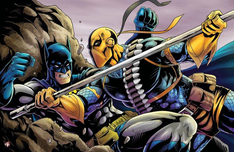 ¿Estará Deathstroke en la próxima película de Batman?