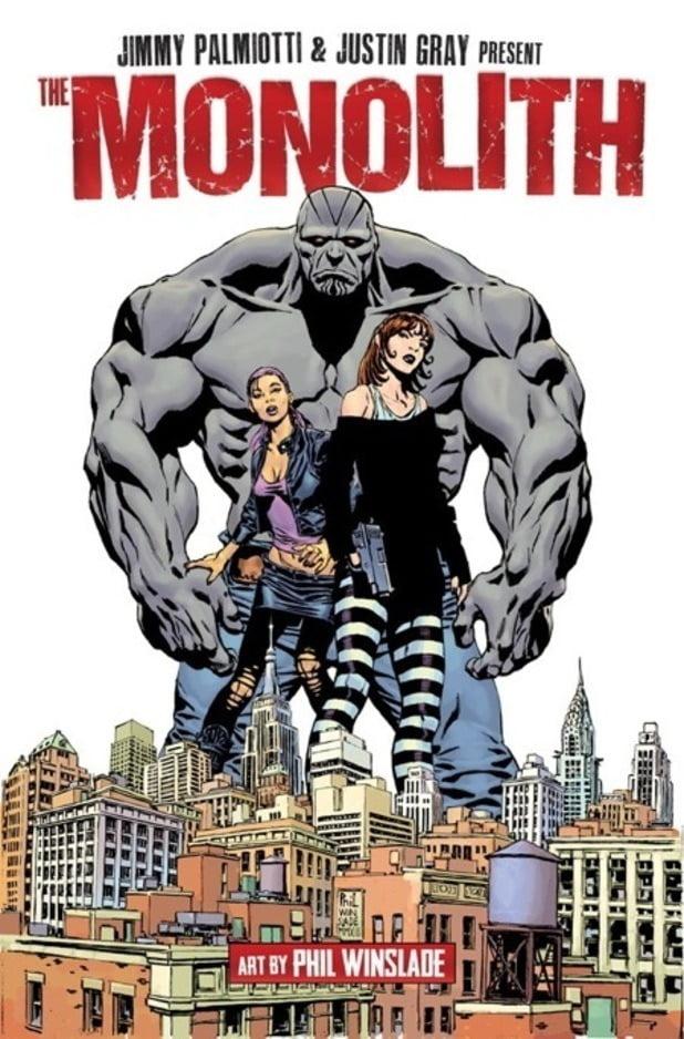 super heroe Monolith película